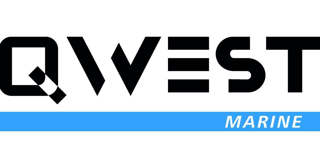 Logo ontwerp voor botenlijn QWEST Aluminiumboten.nl